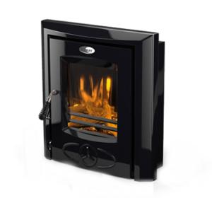 CARA Electric Insert Stove - Cast Iron Black