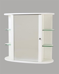 Tema Trent Cabinet With Glass Shelves