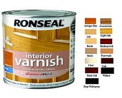 Varnishes, Oils & Stains