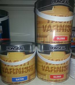 RONSEAL YACHT VARNISH 2.5L