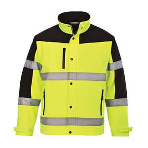 Portwest S429YER HI-VIS TWO-TONE SOFTSHELL