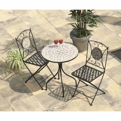 Suntime Casablanca Mosaic Cast Iron Bistro Set