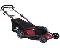 World WYZ22H Self Drive Lawnmower 22""