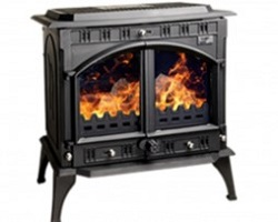 Blacksmith Farrier Boiler Matt Black Stove
