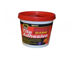 Everbuild 703 Fix & Grout Tile Adhesive 1L
