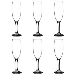 Ravenhead Essentials 220 ml Flute Glasses - 6 Piece