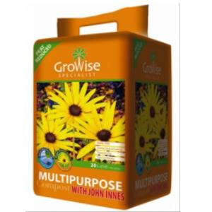 New Stock - Growise Multi-purpose 20L with John Innes