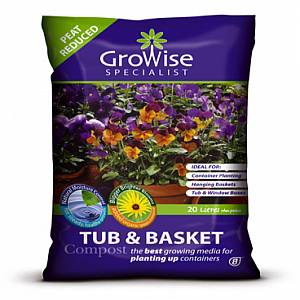 New Stock - Growise Tub and basket 56L