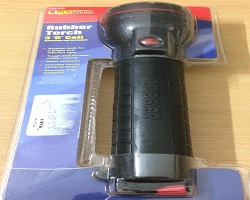 Black Rubber 3D Torch