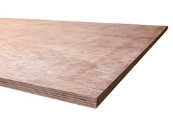 Hardwood Faced Plywood 2440 x 1220 x 12MM