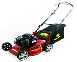 World WJZ18H Self Drive Lawnmower