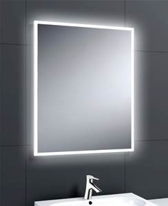 AQUALLA LINEA PLUS LED MIRROR 800 X 800
