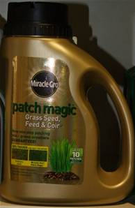 MIRACLE GROW PATCH GRASS SEED FEED & COIR