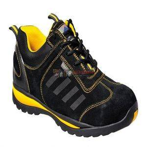Portwest FW34 STEELITE LUSUM SAFETY TRAINER S1P black