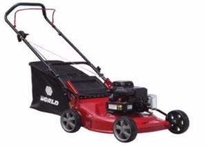 "World 18"" Push Lawnmower - Steel Deck"