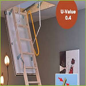 POLAR EXTREME LOFT LADDER 1200X600