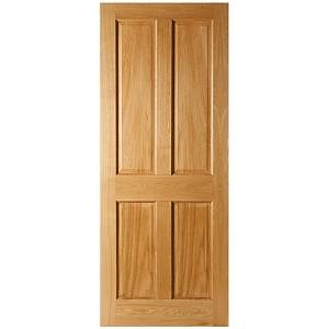 SEADEC KINGSCOURT 4 PANEL PRE FINISHED OAK DOOR