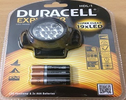 Duracell LED Head Lamp
