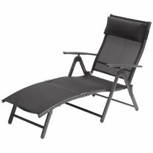 suntime havana sunlounger black - Garden Furniture Galway