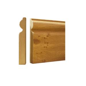 CANADIA KNOTTY OAK MDF SKIRTING 118MM X 2.4 METRES