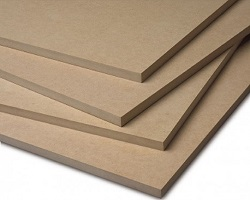 8' x 4' x 18MM Plain Medite (MDF)