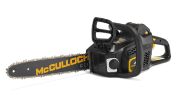 "McCulloch Battery Powered 14"" Chainsaw"