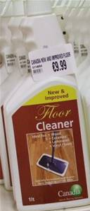 CANADIA NEW AND IMPROVED FLOOR CLEANER