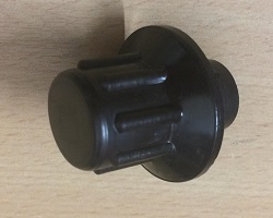 COMERAGH(SUPER 90) BROWN FLUE DAMP KNOB U00024AXX