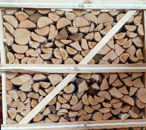 Kiln Dried Hardwood Logs cubic metre crate (ash)