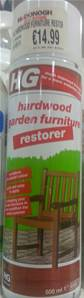 HG FURNITURE RESTORER 500ML