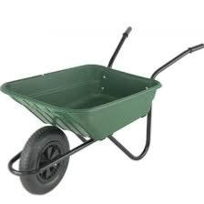 90Lt Capacity Polybody Wheelbarrow