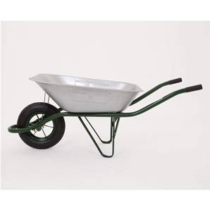 Standard Bobby Galvanised Wheelbarrow - 85Lt