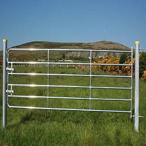 D6 14' HEAVY GALVD TUB GATE