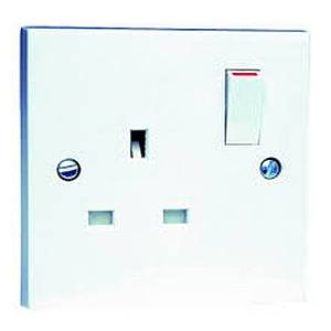 13 AMP SINGLE SWITCHED SOCKET
