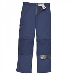 Portwest NEVADA CANVAS TROUSERS NAVY REG
