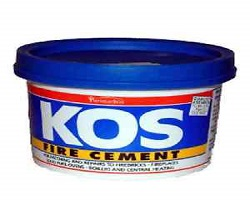 Kos Fire Cement Black 500G