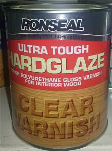 RONSEAL VARNISH HARDGLAZE 750ML