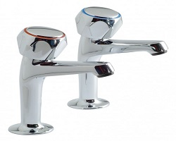Europa H/Neck Sink Taps (Pair)