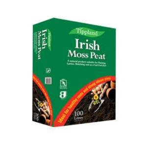 New Stock - Tippland Irish Moss Peat 100L