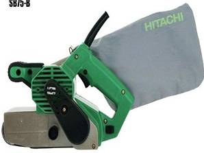 hitachi belt sander. hitachi sb75 belt sander 110 volt hitachi belt sander