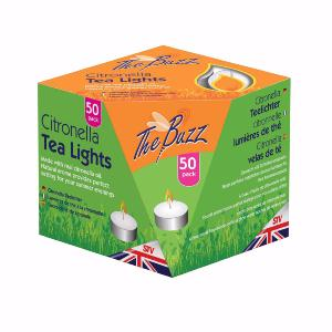 Citronella Tea Lights - 50 Pack