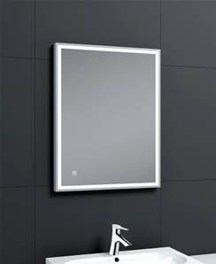 Aqualla Frame LED Mirror - 800 x 600 mm