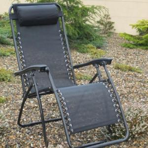 CULCITA ZERO GRAVITY CHAIR - BLACK