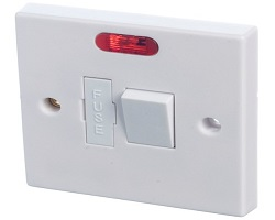 13 A Fused Spur Switch C/W Neon Light