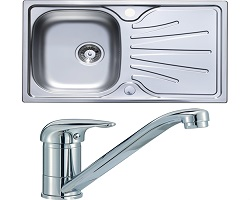 Hafele Kitchen Sink And Tap Pack