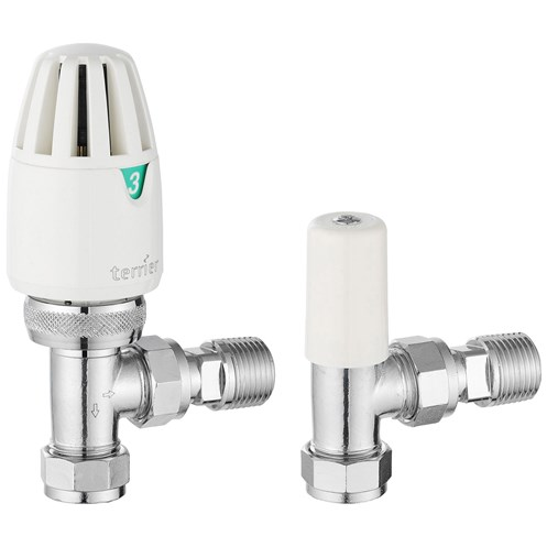 Terrier Thermostatic Radiator Valve Pack