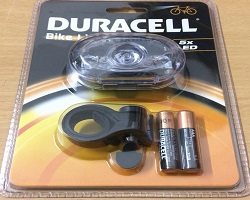 Duracell Front Bicycle Light 5 LED
