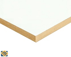 8' x 4' x 15MM White Medite (MDF)